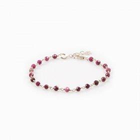 Bracelet rubis naturel