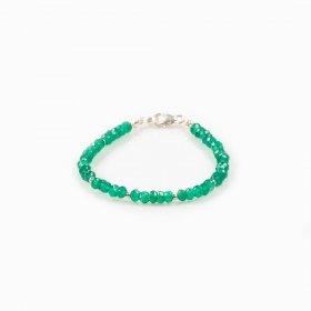 Bracelet onyx vert